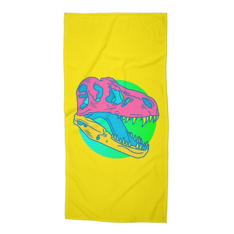 Sickasaurus Rex Accessories Beach Towel by Quick Brown Fox