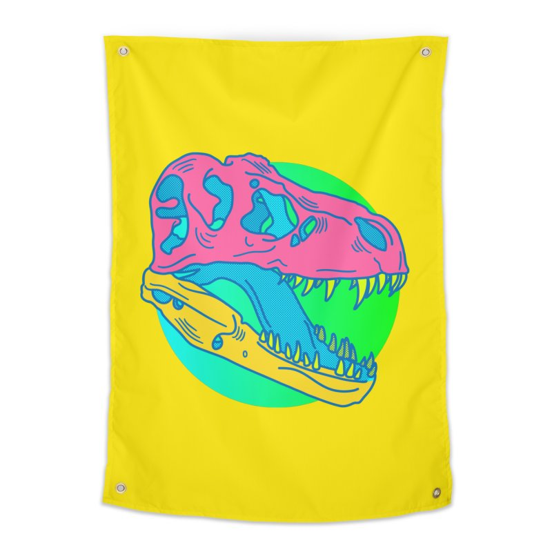 Sickasaurus Rex Home Tapestry by Quick Brown Fox