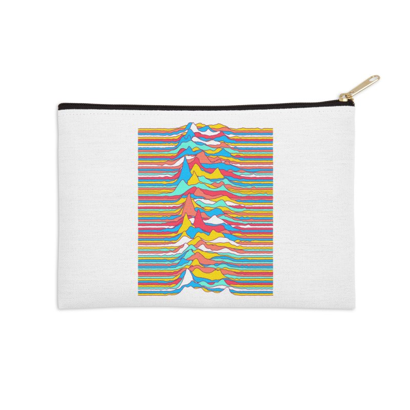 Unknown Colors Accessories Zip Pouch by Quick Brown Fox