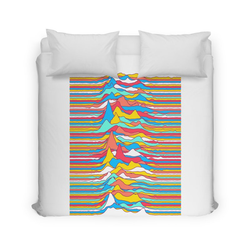 Unknown Colors Home Duvet by Quick Brown Fox