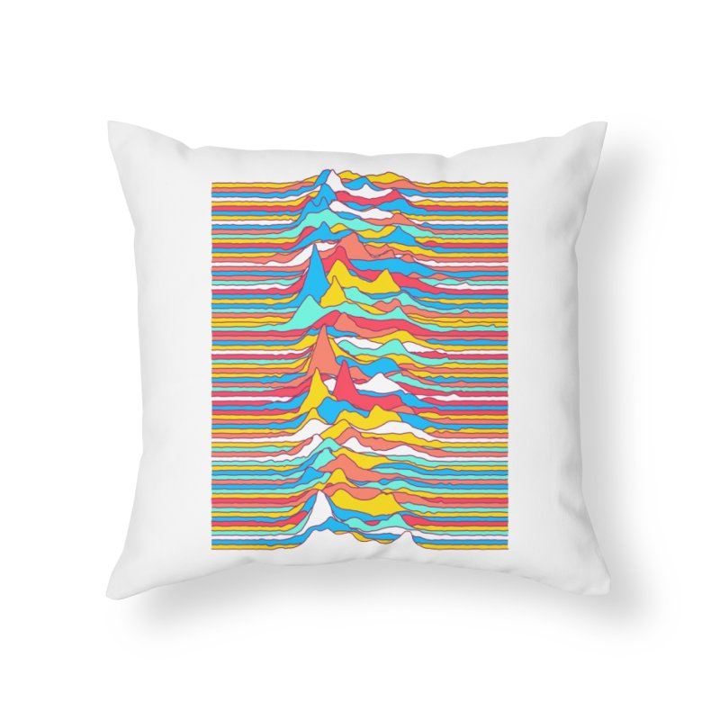 Unknown Colors Home Throw Pillow by Quick Brown Fox