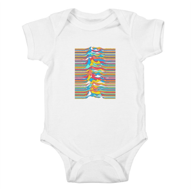 Unknown Colors Kids Baby Bodysuit by Quick Brown Fox