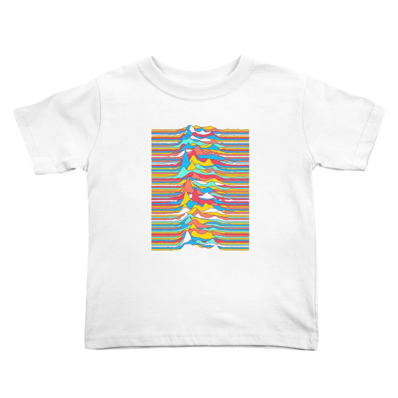 Unknown Colors Kids Toddler T-Shirt by Quick Brown Fox