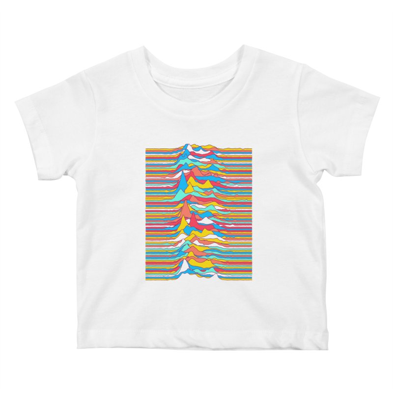 Unknown Colors Kids Baby T-Shirt by Quick Brown Fox