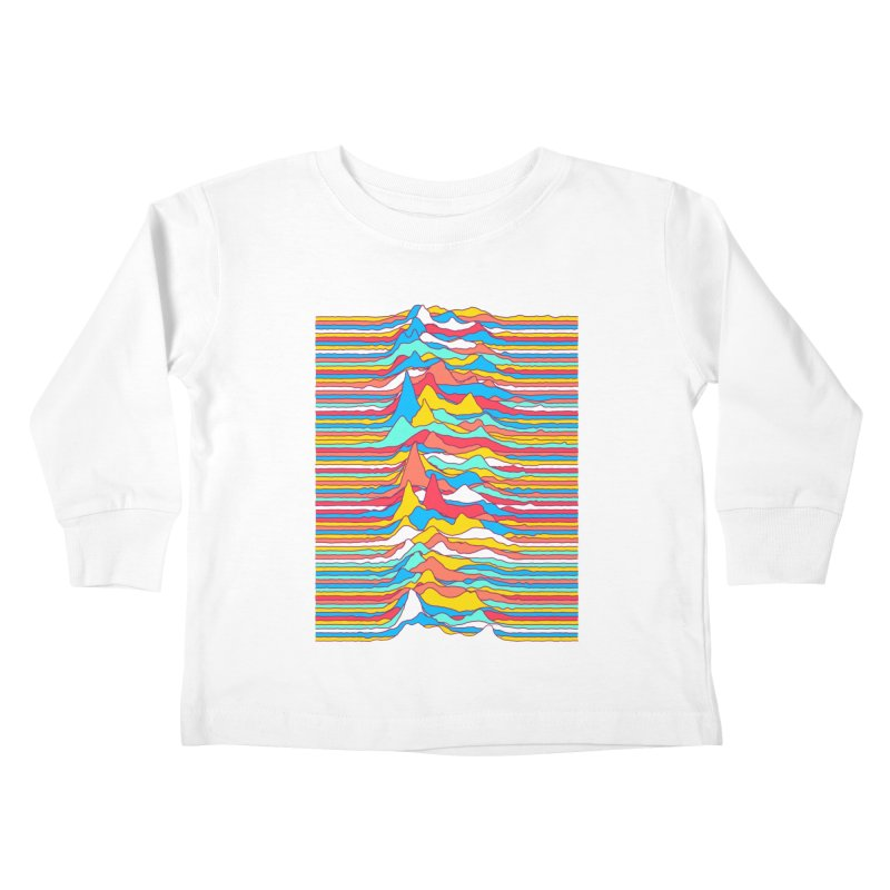 Unknown Colors Kids Toddler Longsleeve T-Shirt by Quick Brown Fox