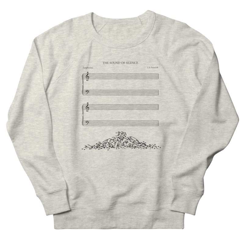 The Sound of Silence Women's Sweatshirt by Quick Brown Fox