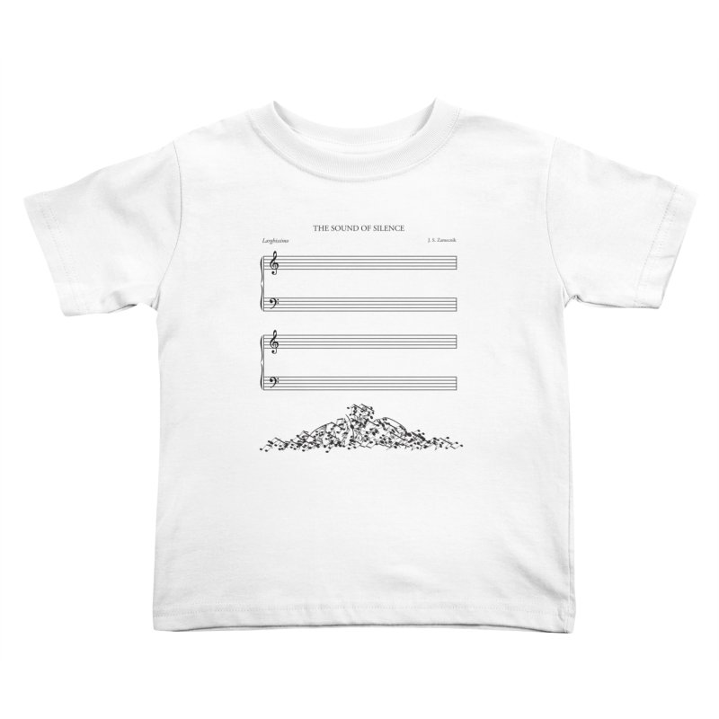 The Sound of Silence Kids Toddler T-Shirt by Quick Brown Fox