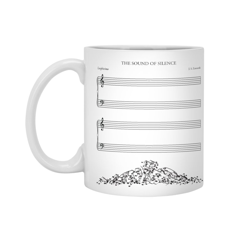 The Sound of Silence Accessories Mug by Quick Brown Fox