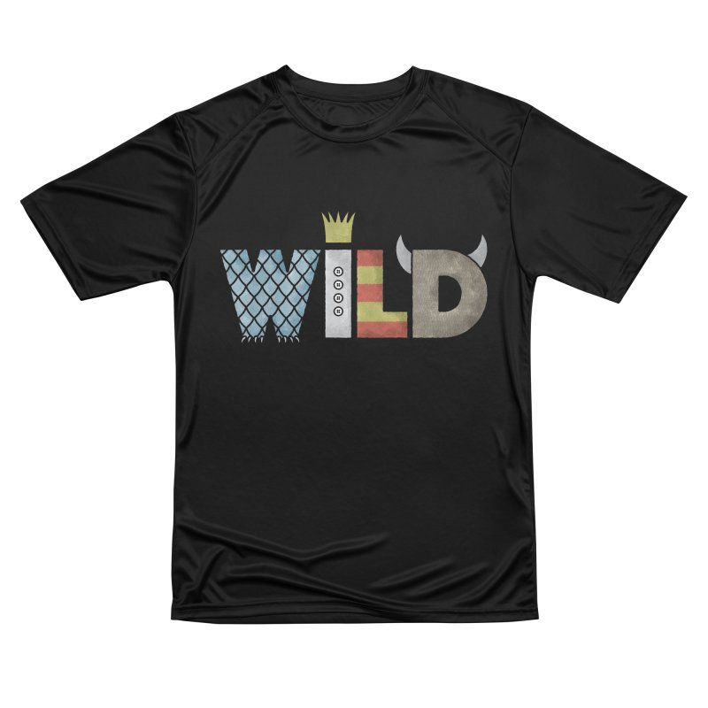 Where The Wild Type Is Women's Performance Unisex T-Shirt by Quick Brown Fox