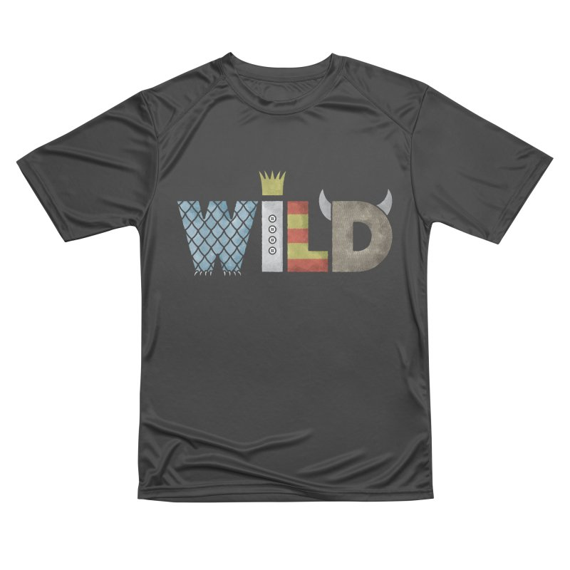 Where The Wild Type Is Men's Performance T-Shirt by Quick Brown Fox