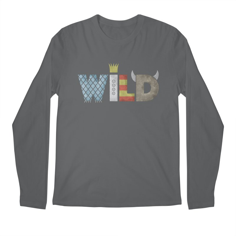 Where The Wild Type Is Men's Regular Longsleeve T-Shirt by Quick Brown Fox