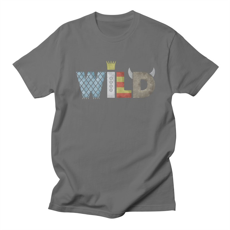 Where The Wild Type Is Men's Regular T-Shirt by Quick Brown Fox
