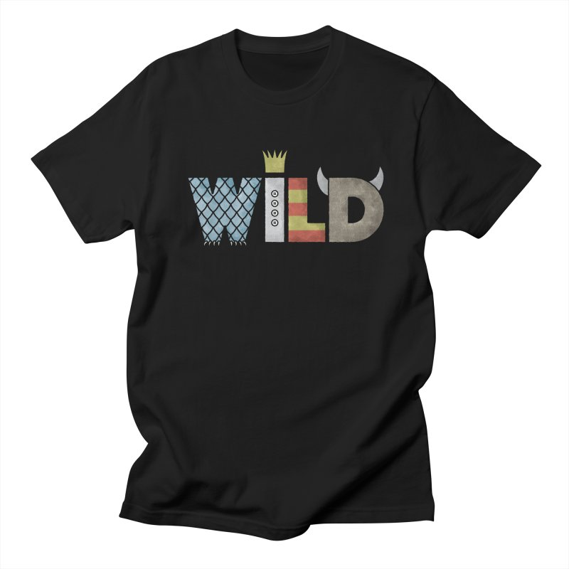 Where The Wild Type Is Women's Regular Unisex T-Shirt by Quick Brown Fox