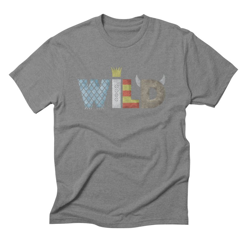 Where The Wild Type Is Men's Triblend T-Shirt by Quick Brown Fox