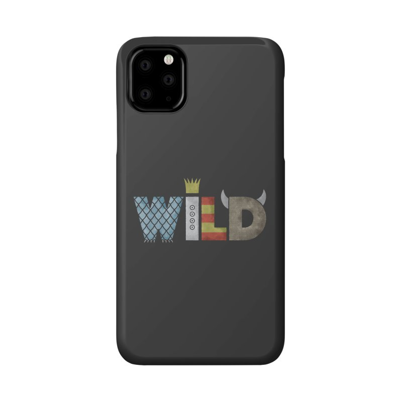 Where The Wild Type Is Accessories Phone Case by Quick Brown Fox