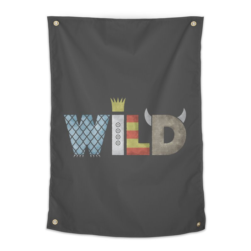 Where The Wild Type Is Home Tapestry by Quick Brown Fox
