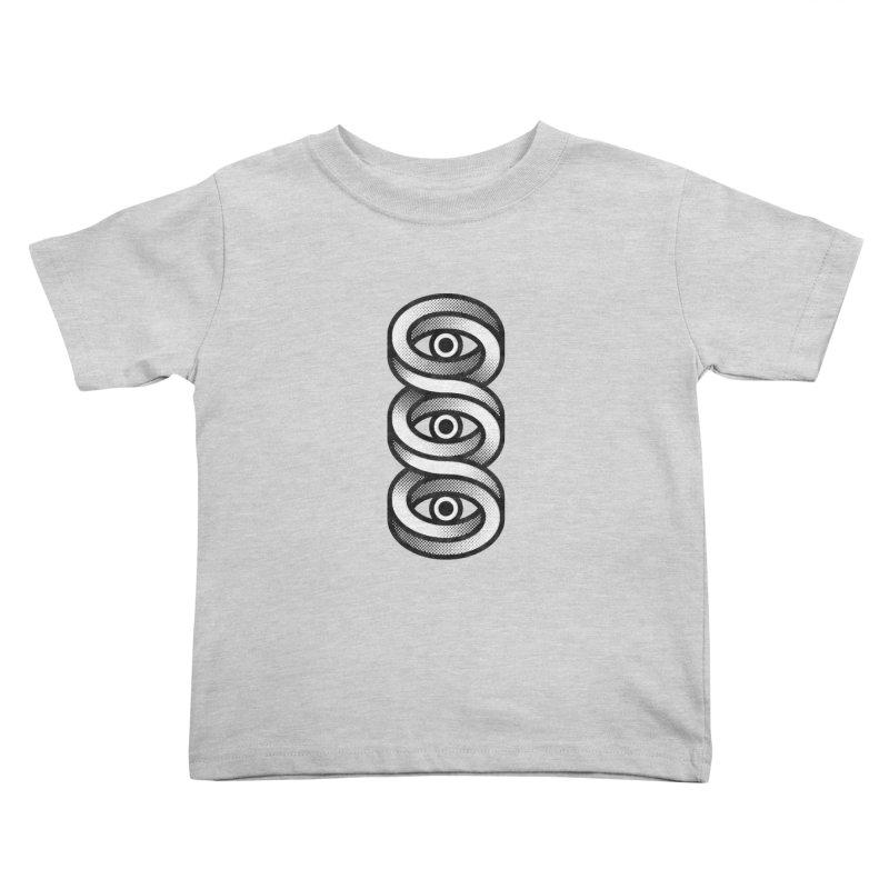 Eye Eye Eye Kids Toddler T-Shirt by Quick Brown Fox