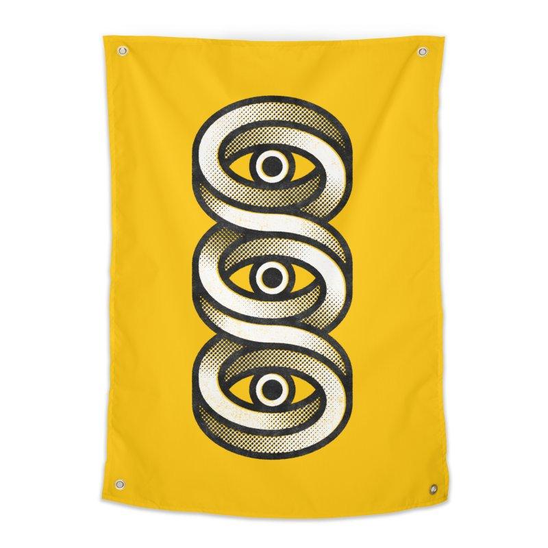 Eye Eye Eye Home Tapestry by Quick Brown Fox