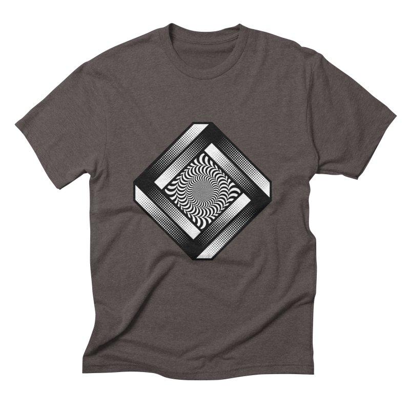 Make it Stop Men's Triblend T-Shirt by Quick Brown Fox