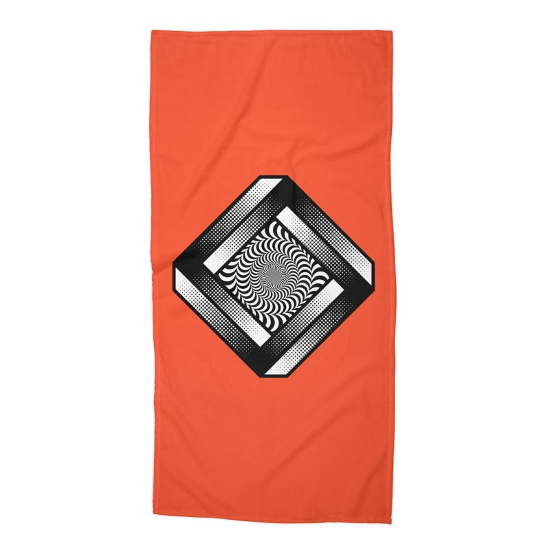 Make it Stop Accessories Beach Towel by Quick Brown Fox