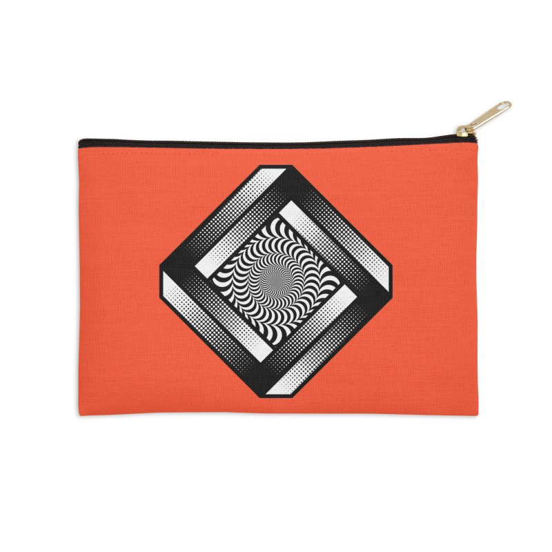 Make it Stop Accessories Zip Pouch by Quick Brown Fox