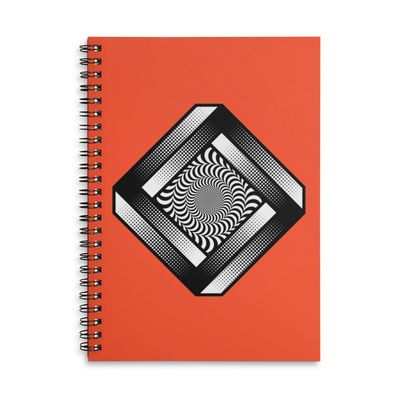Make it Stop Accessories Lined Spiral Notebook by Quick Brown Fox