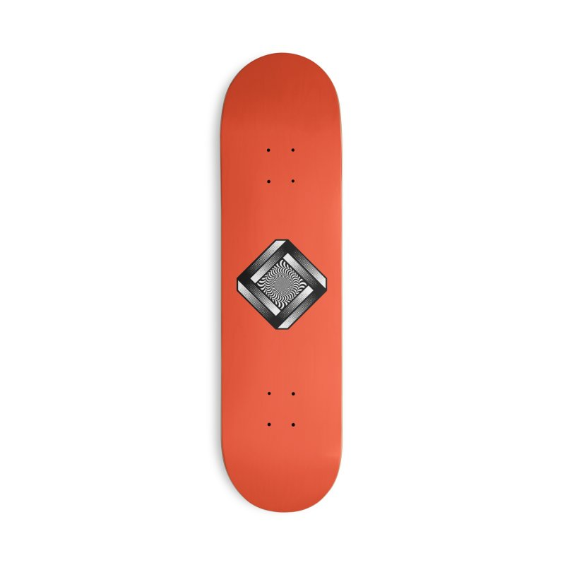 Make it Stop Accessories Deck Only Skateboard by Quick Brown Fox