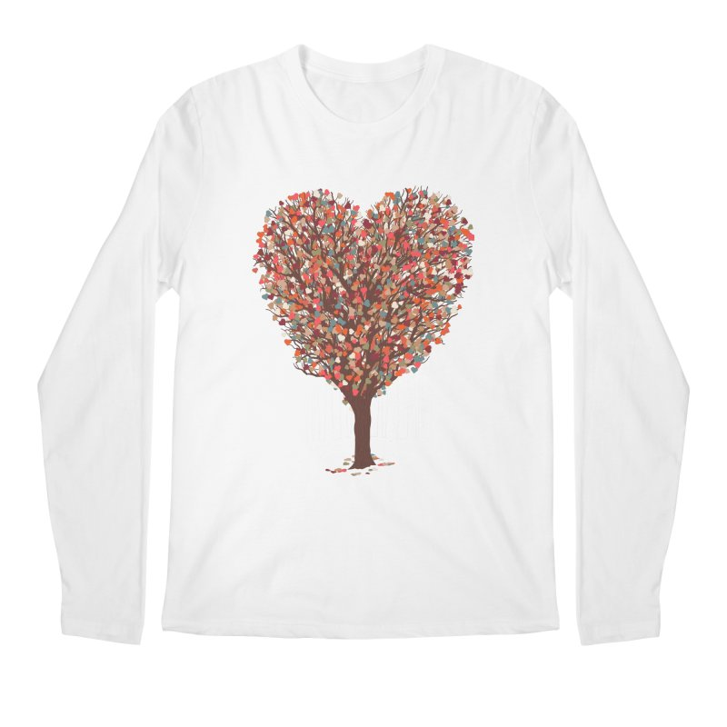 Tree Hug Men's Regular Longsleeve T-Shirt by Quick Brown Fox