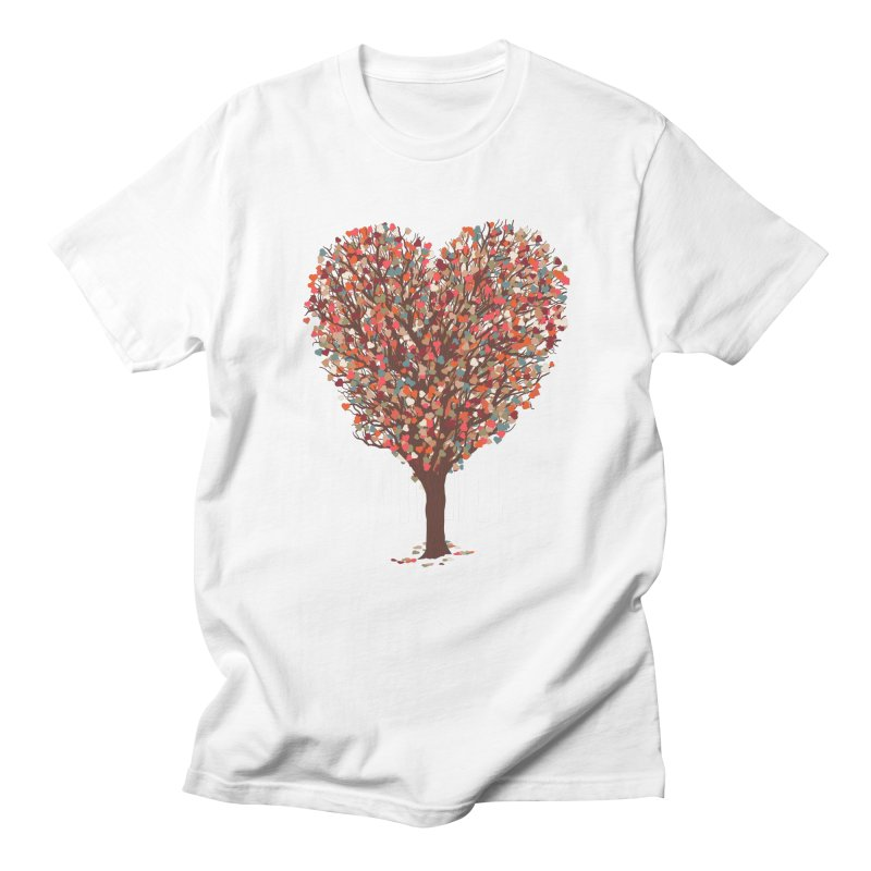 Tree Hug Men's Regular T-Shirt by Quick Brown Fox