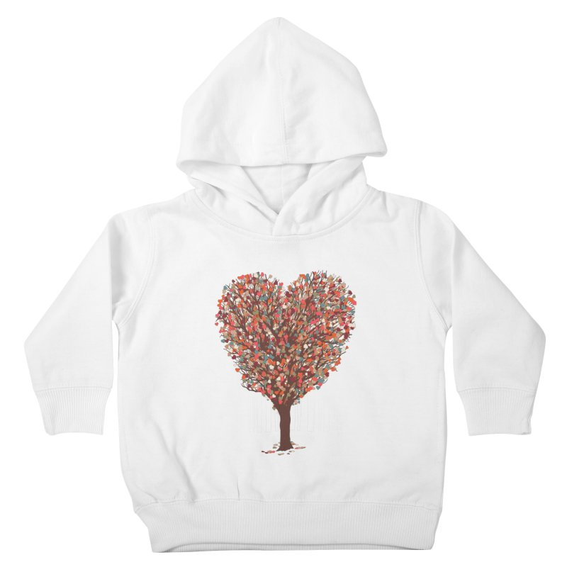 Tree Hug Kids Toddler Pullover Hoody by Quick Brown Fox