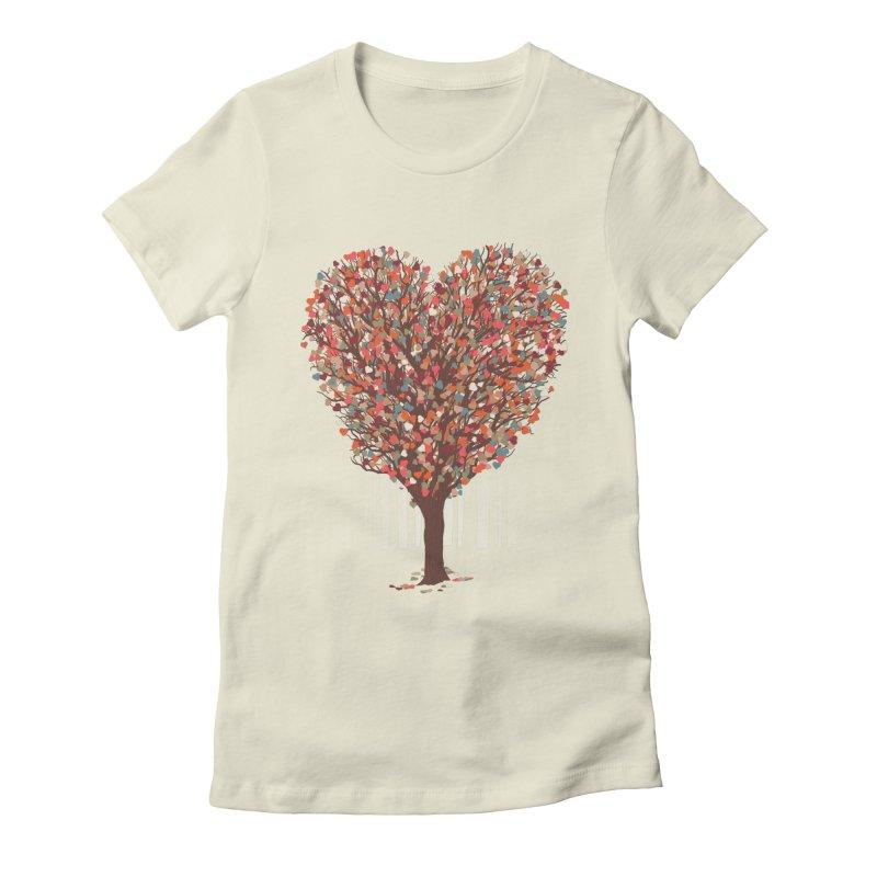Tree Hug Women's T-Shirt by Quick Brown Fox