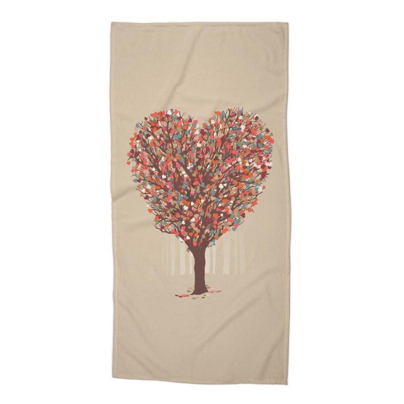 Tree Hug Accessories Beach Towel by Quick Brown Fox