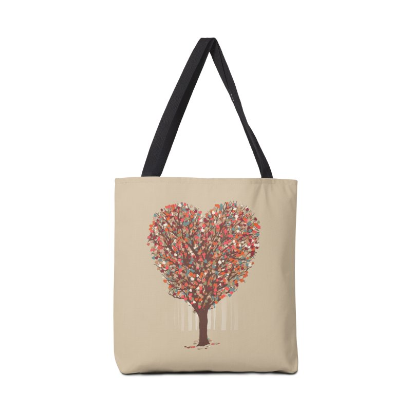 Tree Hug Accessories Bag by Quick Brown Fox