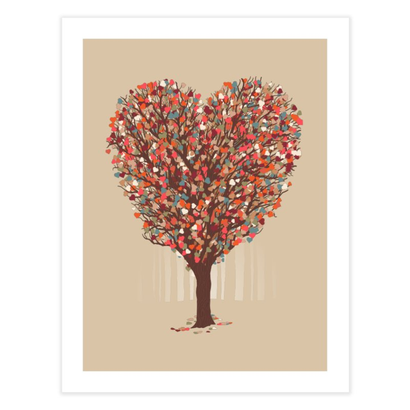 Tree Hug Home Fine Art Print by Quick Brown Fox