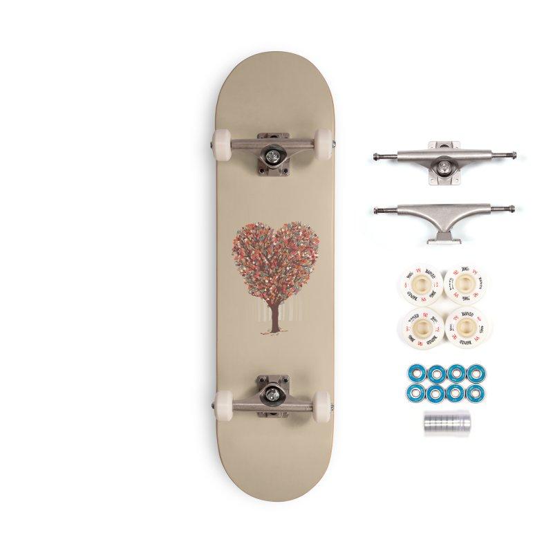 Tree Hug Accessories Complete - Premium Skateboard by Quick Brown Fox