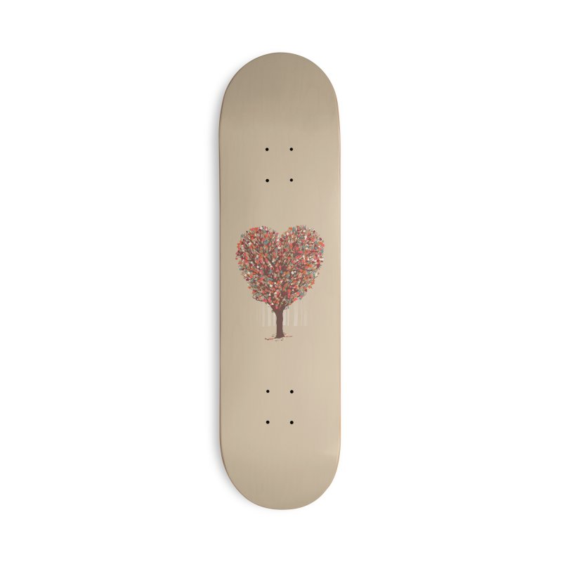 Tree Hug Accessories Deck Only Skateboard by Quick Brown Fox
