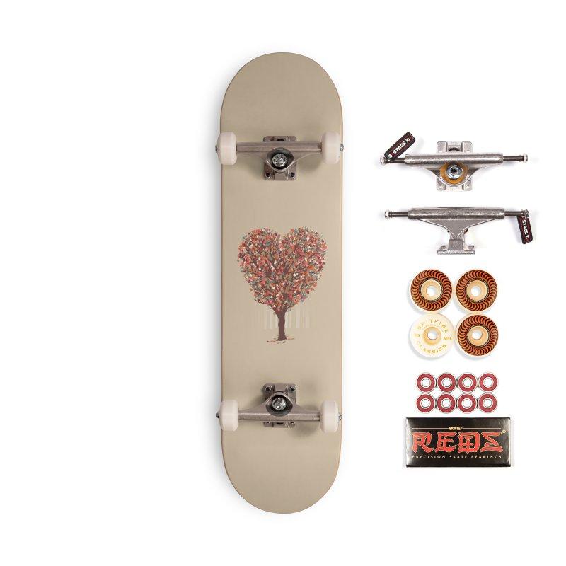 Tree Hug Accessories Skateboard by Quick Brown Fox