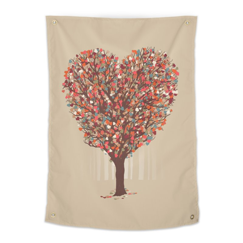 Tree Hug Home Tapestry by Quick Brown Fox