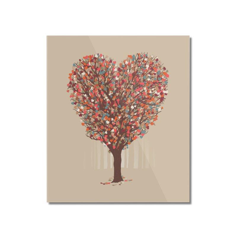 Tree Hug Home Mounted Acrylic Print by Quick Brown Fox