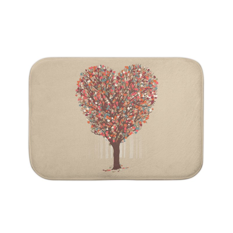 Tree Hug Home Bath Mat by Quick Brown Fox