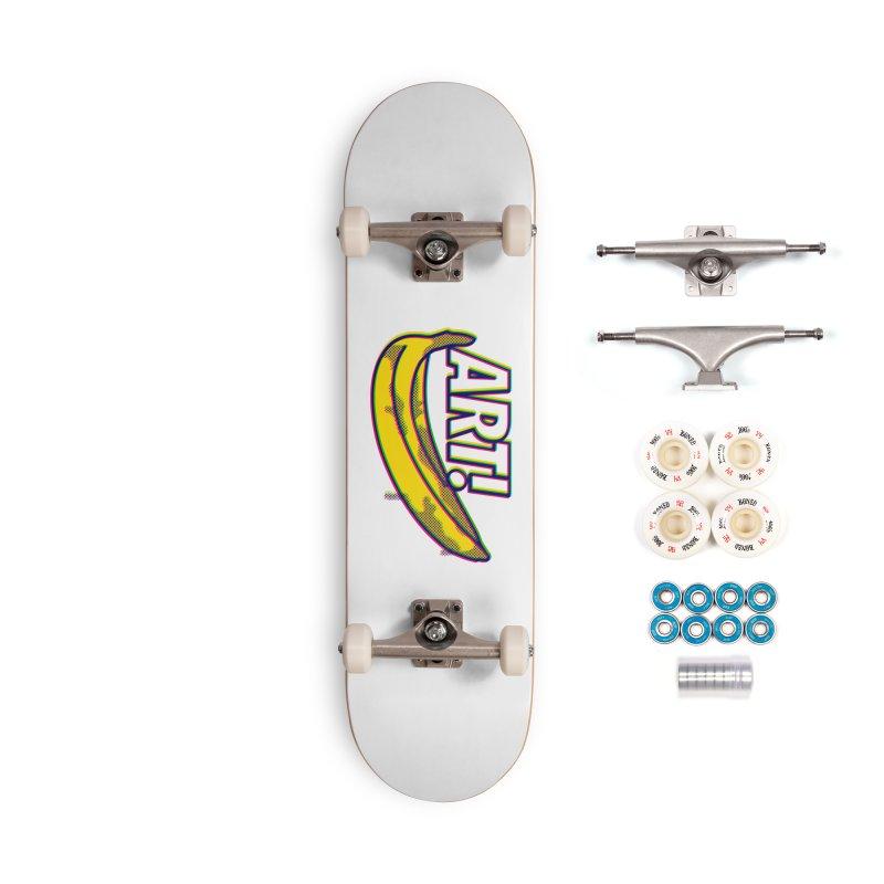 Just Pop It! Accessories Complete - Premium Skateboard by Quick Brown Fox