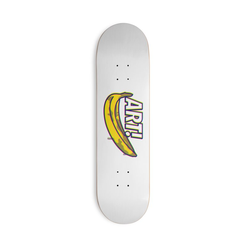 Just Pop It! Accessories Deck Only Skateboard by Quick Brown Fox