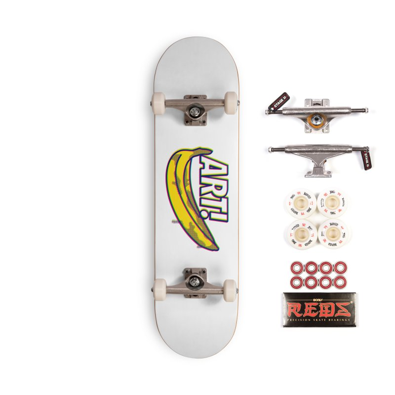 Just Pop It! Accessories Complete - Pro Skateboard by Quick Brown Fox