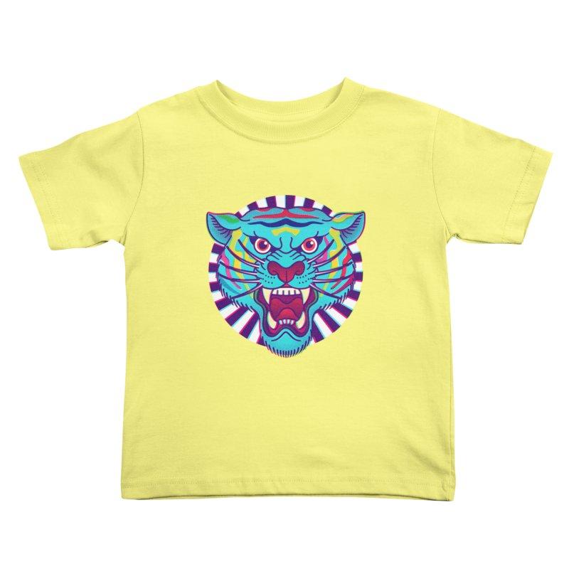 FURRYOUS! Kids Toddler T-Shirt by Quick Brown Fox