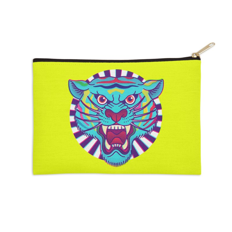 FURRYOUS! Accessories Zip Pouch by Quick Brown Fox