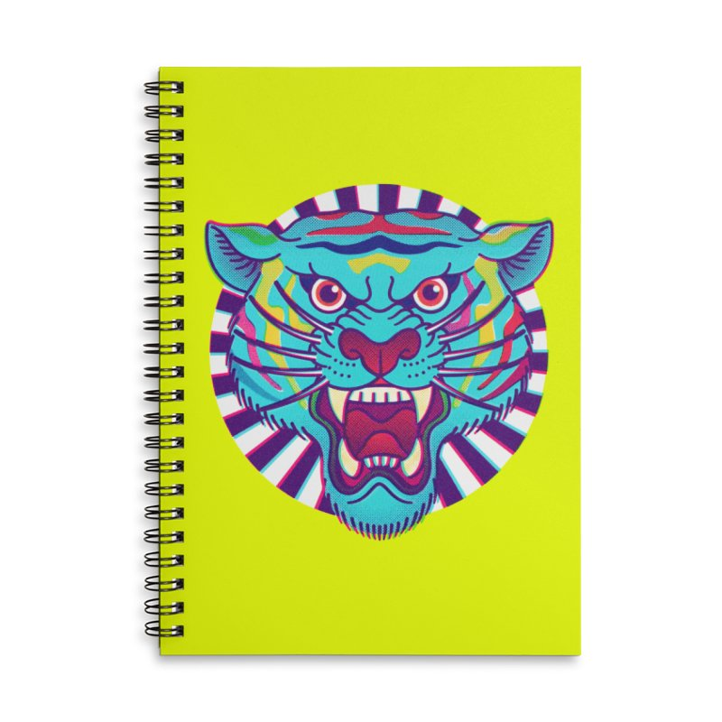 FURRYOUS! Accessories Lined Spiral Notebook by Quick Brown Fox