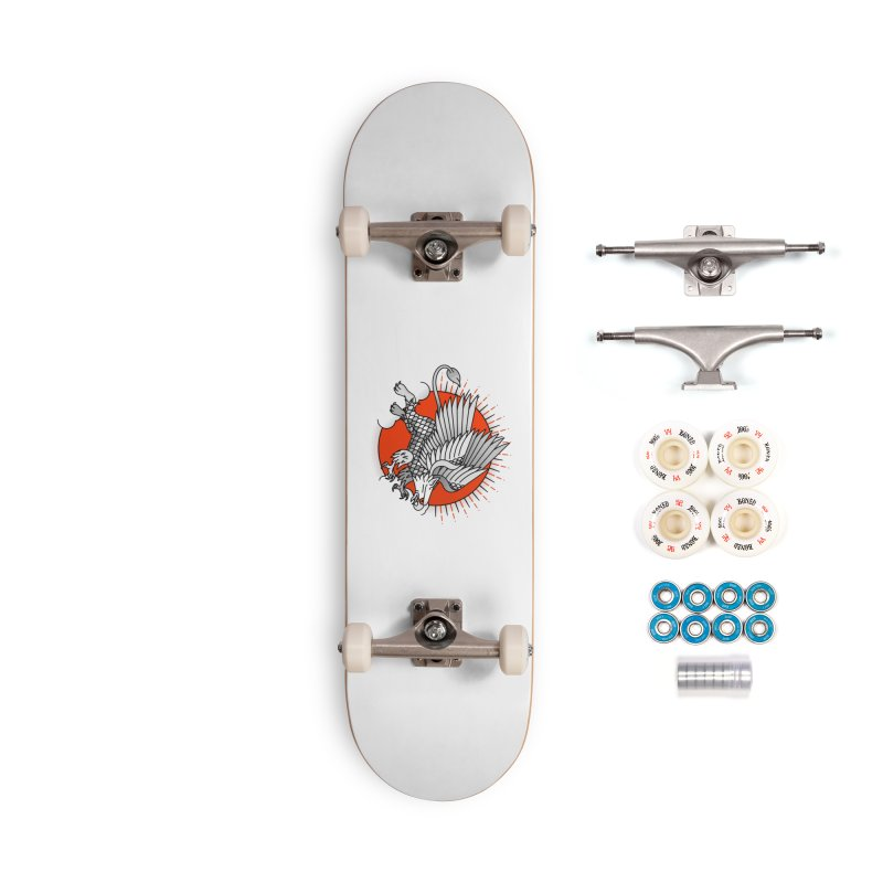 Fantastic Beast Accessories Complete - Premium Skateboard by Quick Brown Fox