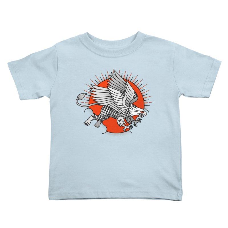Fantastic Beast Kids Toddler T-Shirt by Quick Brown Fox