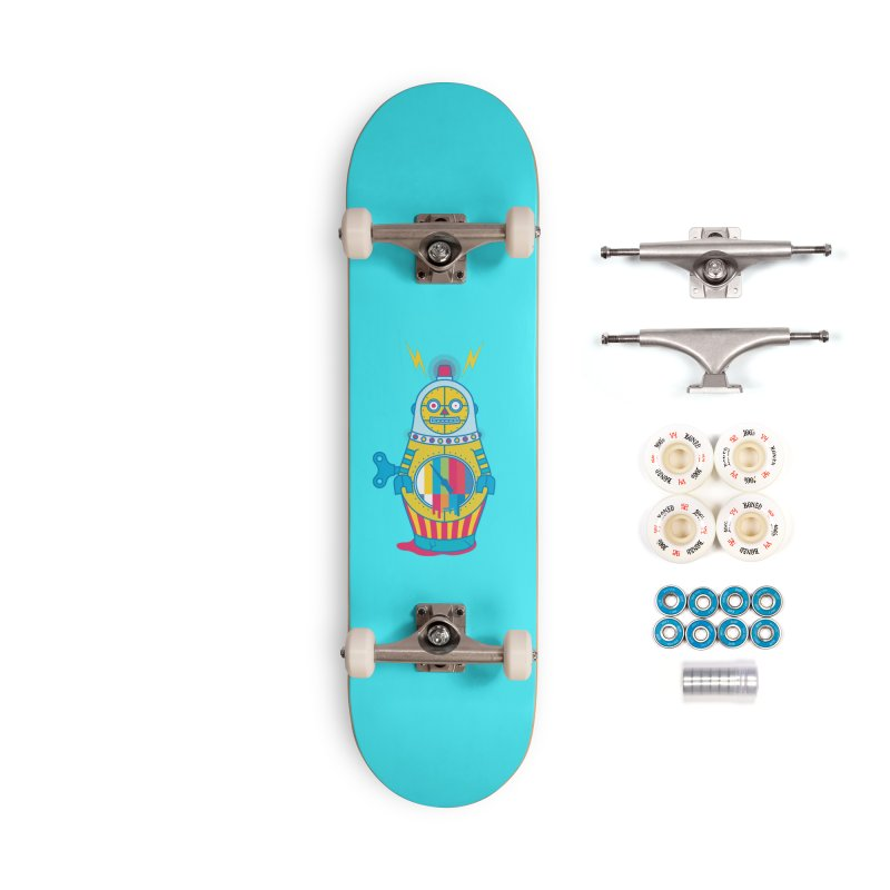 Does Not Compute Accessories Complete - Premium Skateboard by Quick Brown Fox