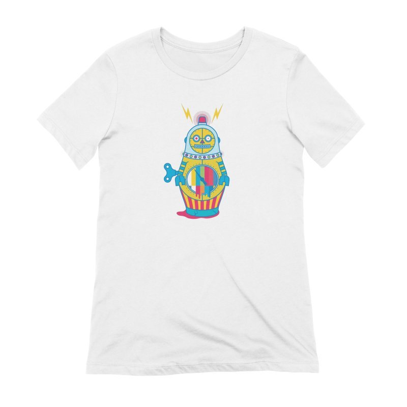 Does Not Compute Women's Extra Soft T-Shirt by Quick Brown Fox
